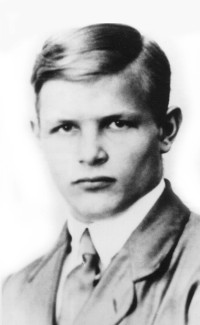 Dietrich Bonhoeffer in 1923