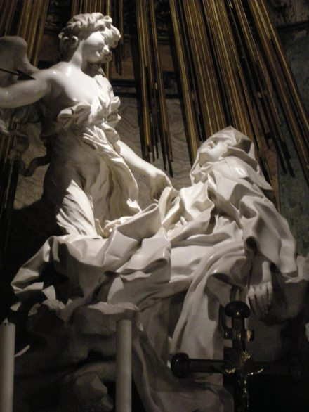 The Ecstasy of St. Teresa - Bernini