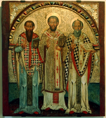 Icon of the Three Holy Hierarchs