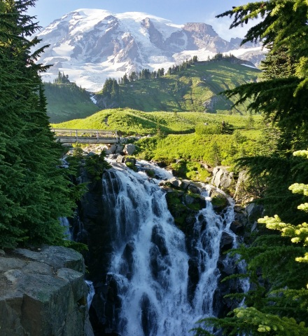 Rainier Waterfall Crossing