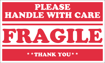Please Handle with Care - FRAGILE
