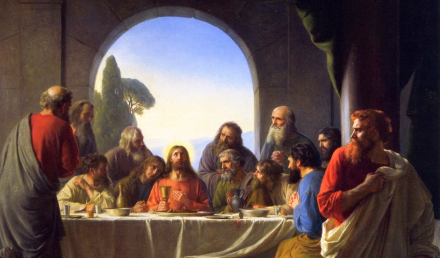 Detail from The Last Supper - Carl Heinrich Bloch